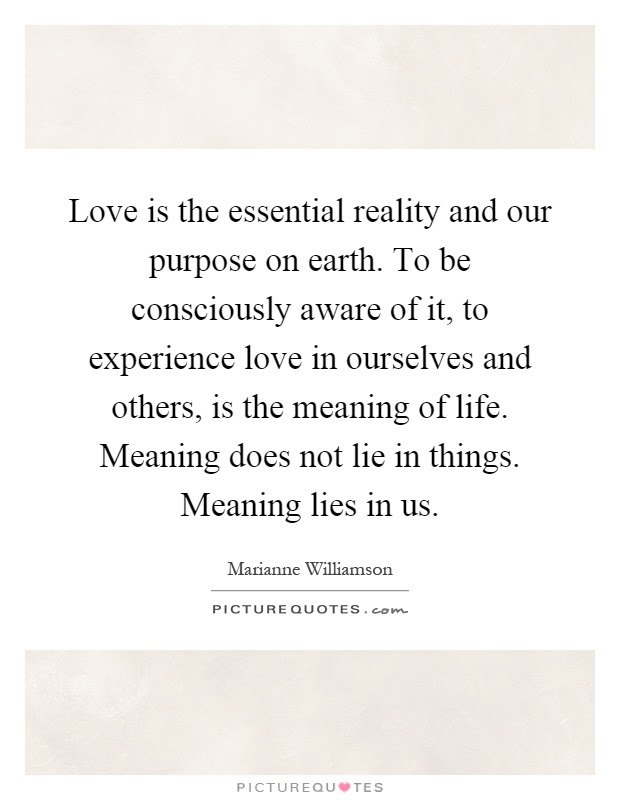 The Meaning Of Life Quotes Sayings The Meaning Of Life Picture