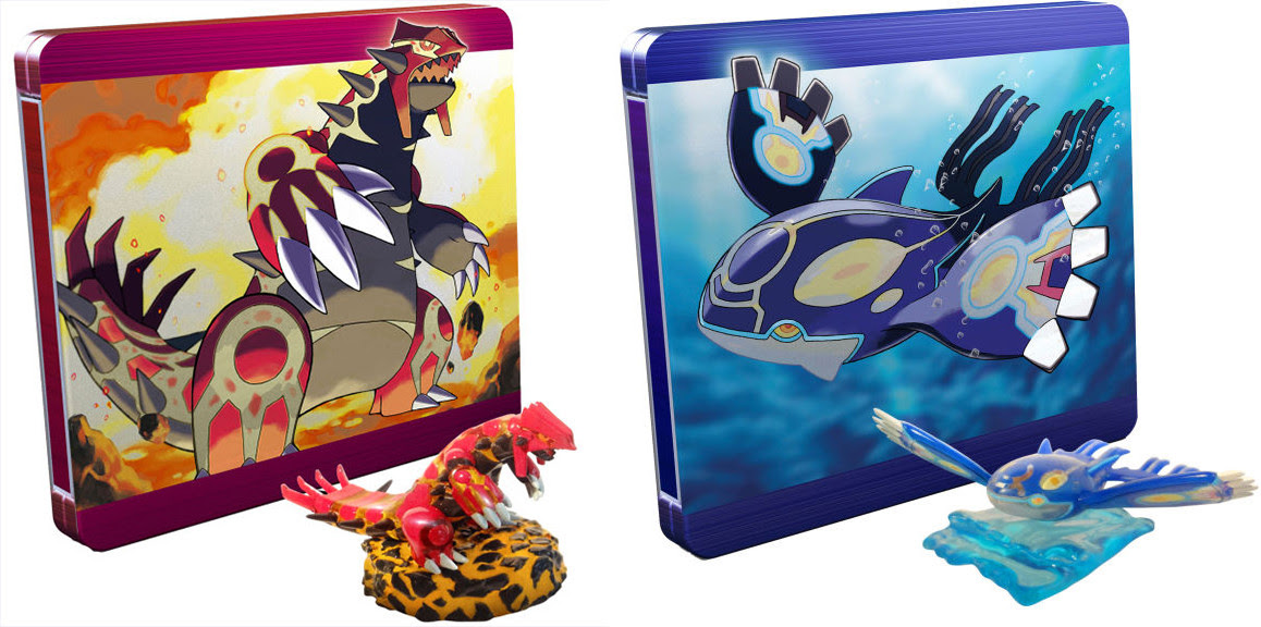 Pokemon Omega Ruby amp; Alpha Sapphire Limited Editions
