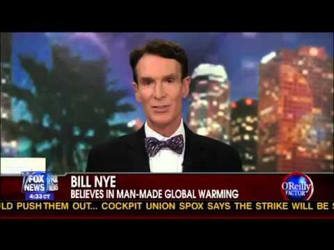 Bill Nye and Joe Bastardi debate Global Warming and Climate Change