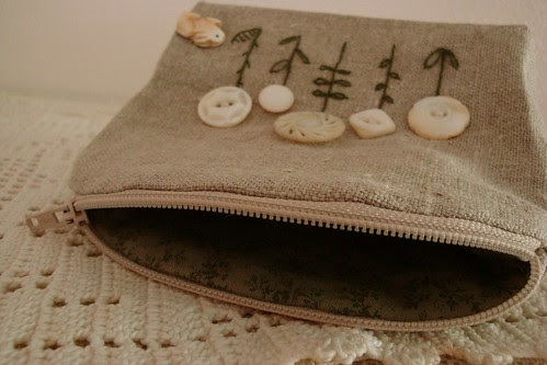 Linen bag opening