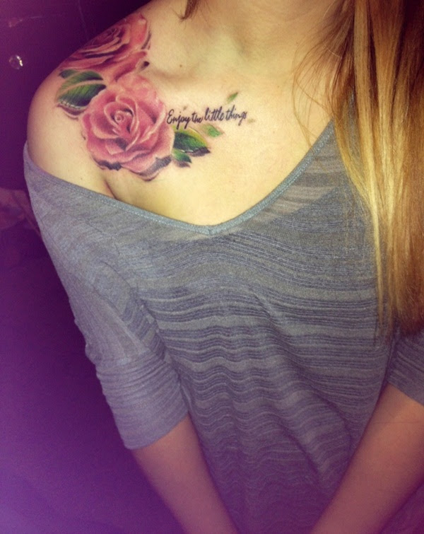 91 Abstract Shoulder Tattoos For Women