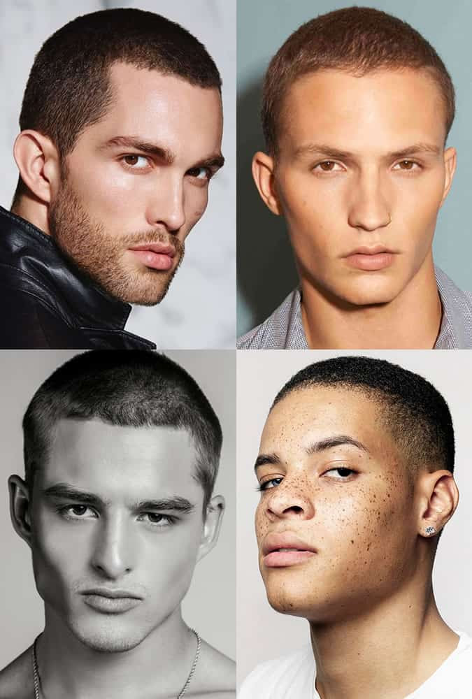 Men's Buzz Cut/Shaved Hairstyles