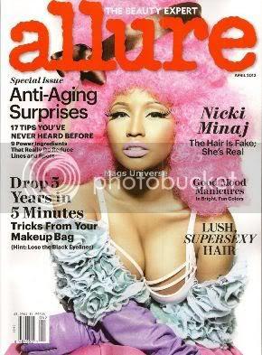 Nicki Minaj Allure Magazine