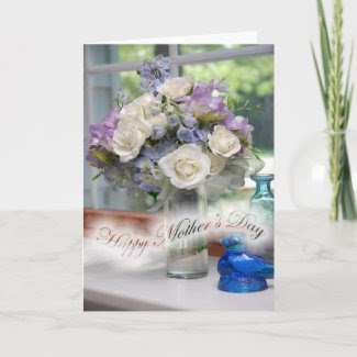 Floral Bouquet Mother's Day Card card