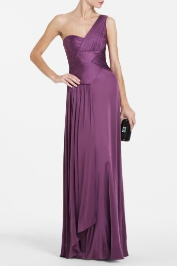BCBGMAXAZRIA Nikita One Shoulder Dress