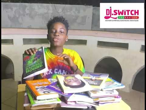 Dj Switch calls on individuals to support her Community Reading Project