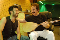 Tarkan and Orhan Gencebay in the studio for the song