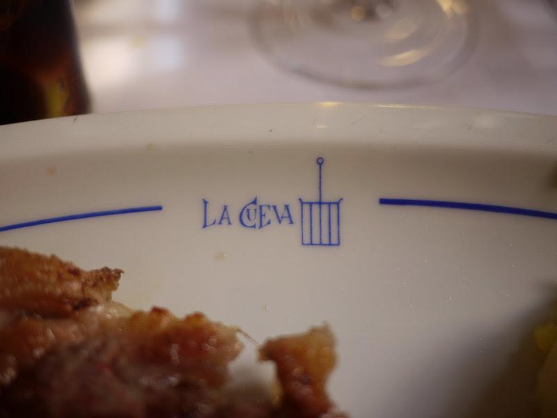 午餐LA CUEVA