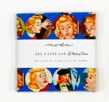 Moda Charm Pack - Get A Clue With Nancy Drew by Moda