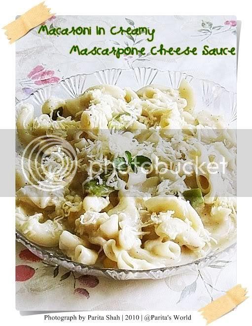 Homemade Mascarpone Cheese,Macaroni with Cheese,Macaroni In Mascarpone Cheese Sauce,Mascarpone Cheese Sauce,Homemade Pasta Sauce