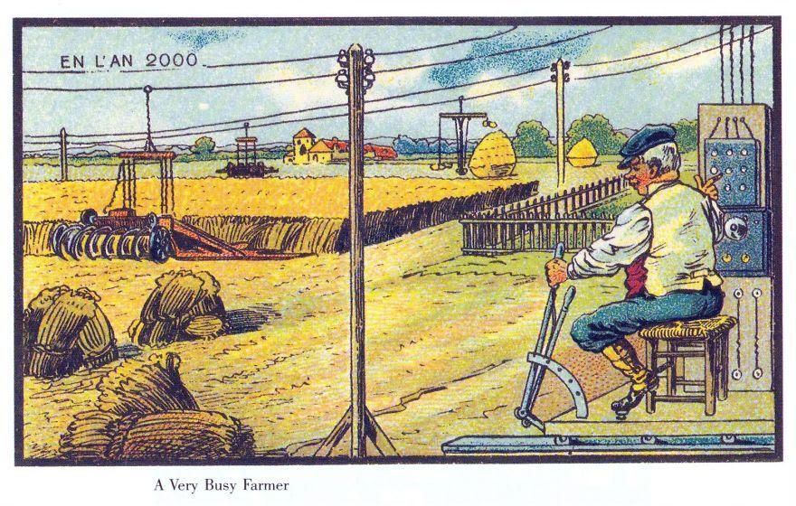 100 yıl önce günümüz