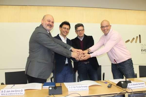 El Museo de la Evolución Humana firma acuerdos con tres museos burgaleses para la promoción conjunta de instalaciones