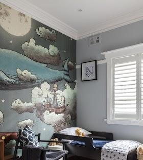 Motif Wallpaper Kamar Tidur Wallpaper Dinding Aesthetic