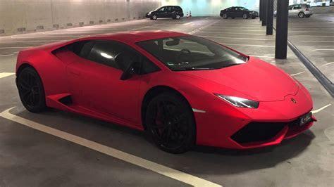 Lamborghini Huracán LP 610 4 (matte red 1/1)   YouTube