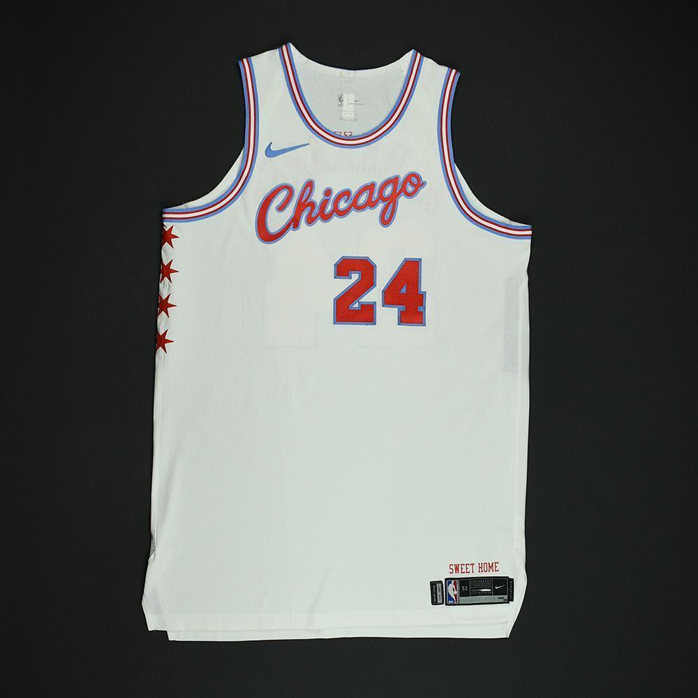 Chicago Bulls #22 Cameron Payne NEWCity Edition Swingman Jersey