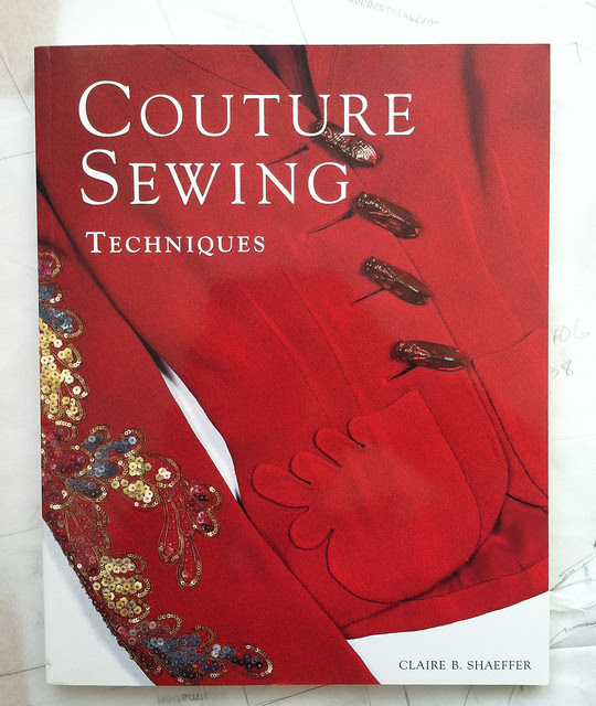 Couture techniques book cover