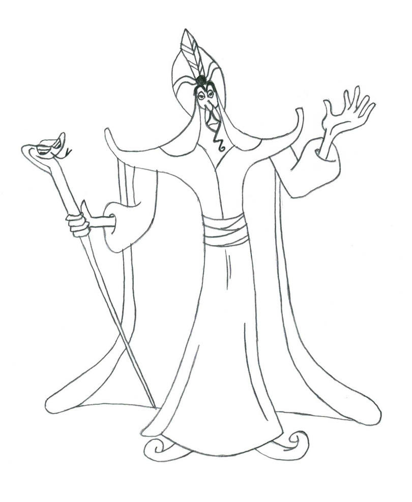 Disney Villains Coloring Pages Online - coloringpages2019
