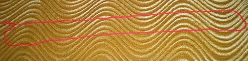 Loop of yarn about 2-3 feet long