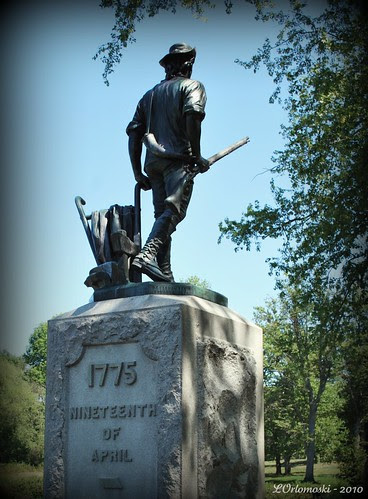 Concord Minute Man Statue