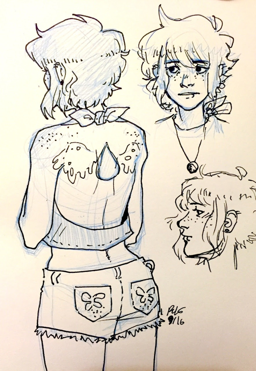 some human lapis doodles