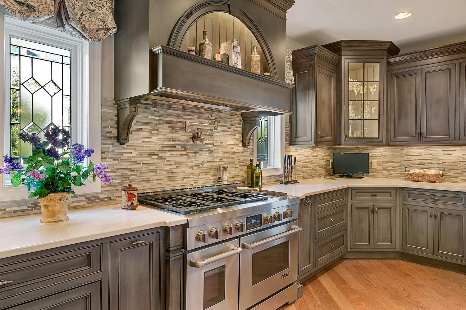Driftwood With Glaze Large Kitchen Point Pleasant New Jersey By Design Line Kitchens