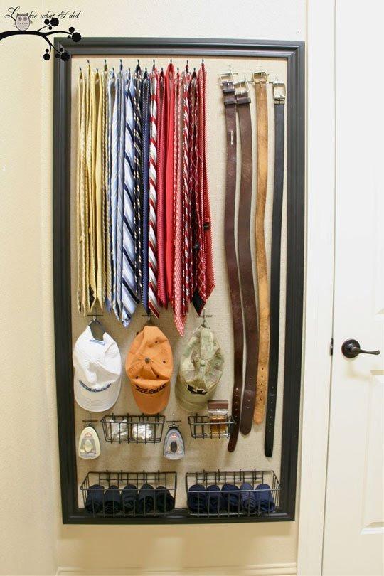 вешалка +для галстуков своими руками