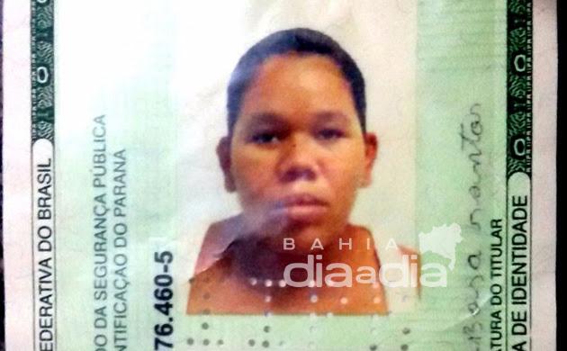 Neuzane Barbosa Santos, de 24 anos morreu no local. (Foto:BAHIA DIA A DIA)