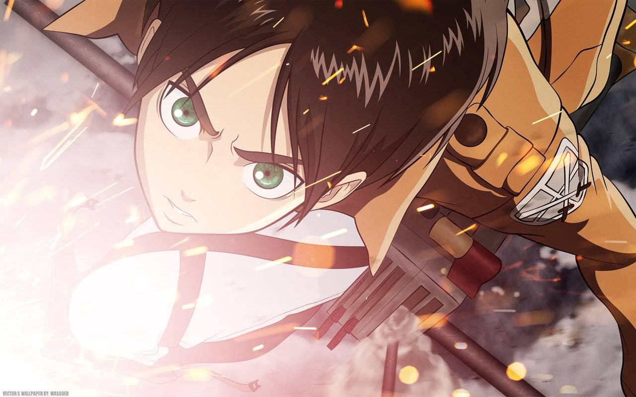 Attack On Titan Eren 24 Hd Wallpaper Animewp Com