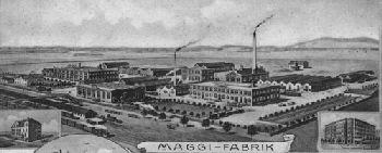 Bild: Maggi-Fabrik um 1906