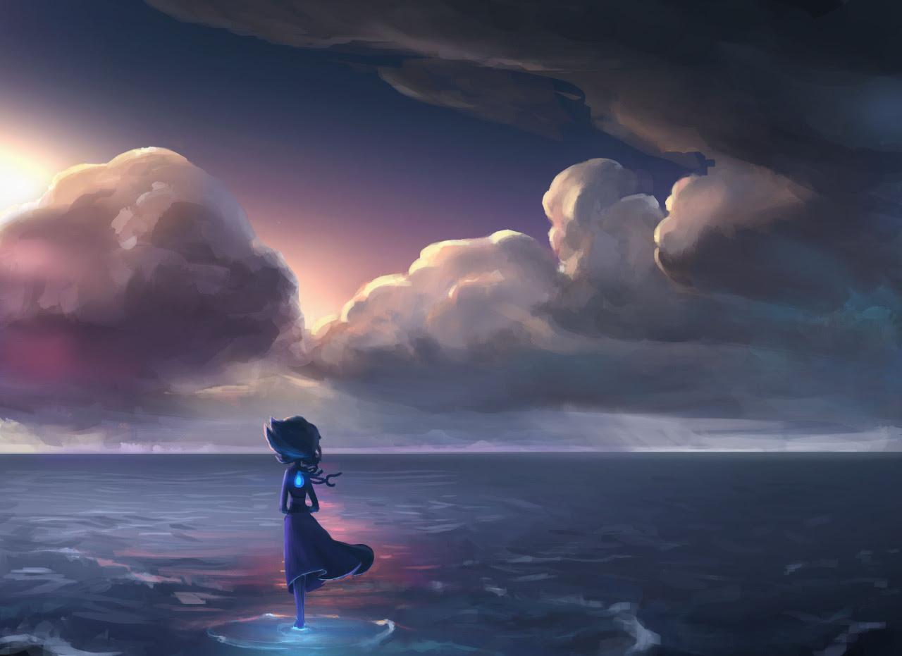I Am Alone Hd Wallpaper Hd Hintergrundbilder Menschen Ozean