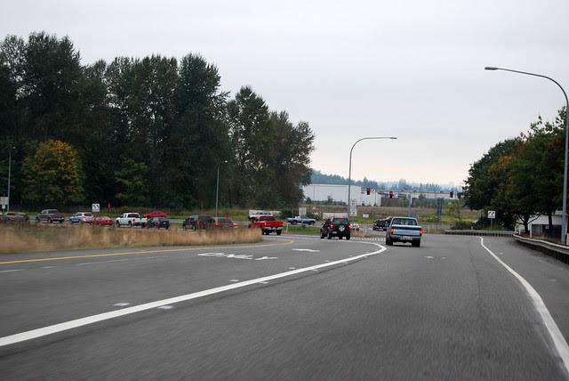 SR 161 @ SR 167 southward