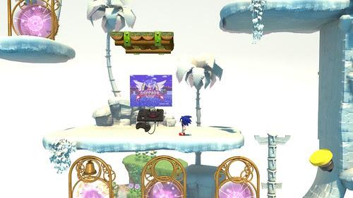 Sonic 1 in Sonic Generations