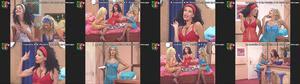 Raquel Loureiro , Fátima Preto e Marta Pereira super sensuais na serie Maré Alta