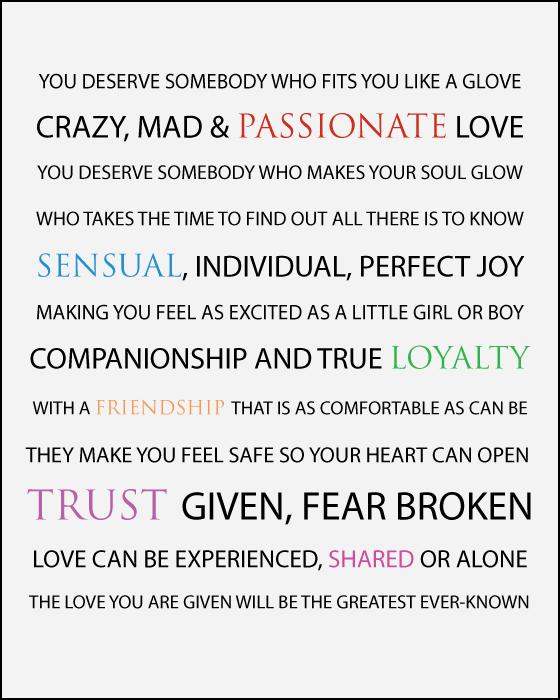 You Deserve Love A Poem Ms Moem Poems Life Etc