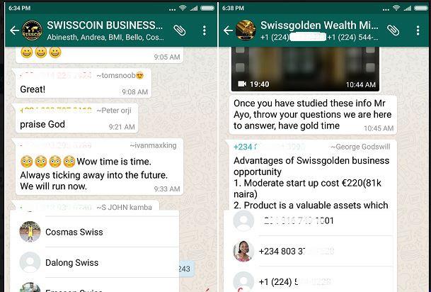 ( KL surprise) Whatsapp Add User Mentíon Feature, For Group Conversation