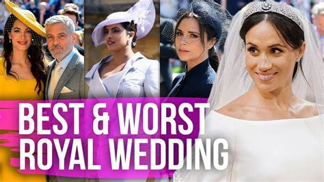 Best & Worst Dressed Celebs at the Royal Wedding (Dirty