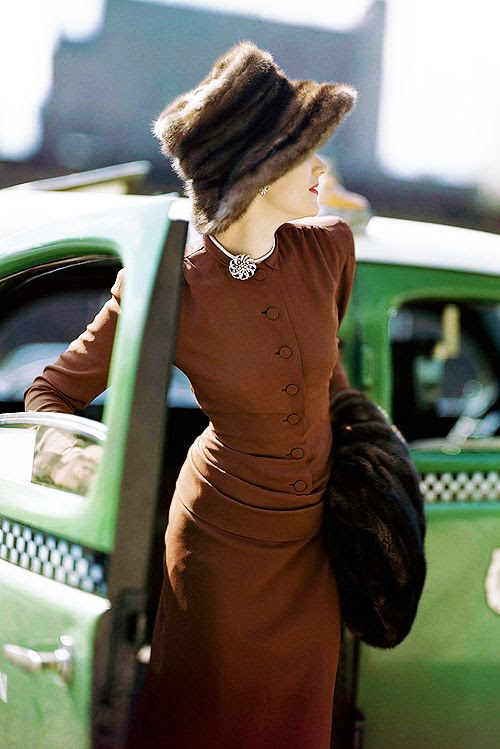 Vogue, 1945.  They have always had the best photography...