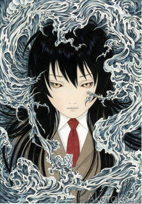 """akatako:  """"Phantom Blue""""by Takato Yamamoto"""