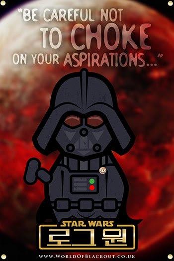 Rogue One: A Star Wars Story poster - Darth Vader