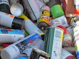 Spent Aerosol Cans Being Handled As Universal Waste