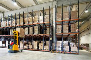 Logistics industry focusing on productivity