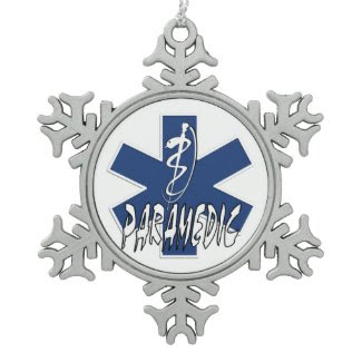 Paramedic Action Ornaments