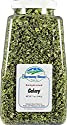 Harmony House Foods Dehydrated Celery, crosscut (6 oz, Quart Size Jar) for Cooking, Camping, Emergency Supply, and More