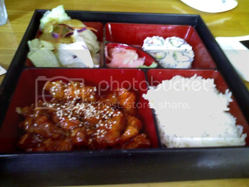 Spicy Chicken Bento Box