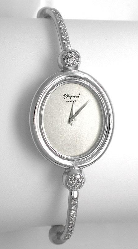 Foto 2, Original Da-Chopard Diamanten Weissgold Shop! Portofrei, U1749