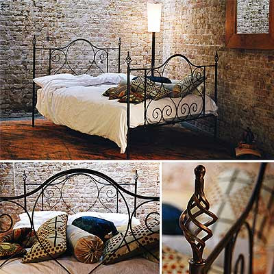 Redhouse Bed Frame 77 Handforged Wrough Iron Bed