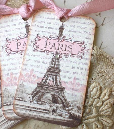 itsacherryicecreamsmile:  t a g s .  De magnifiques étiquettes Paris…