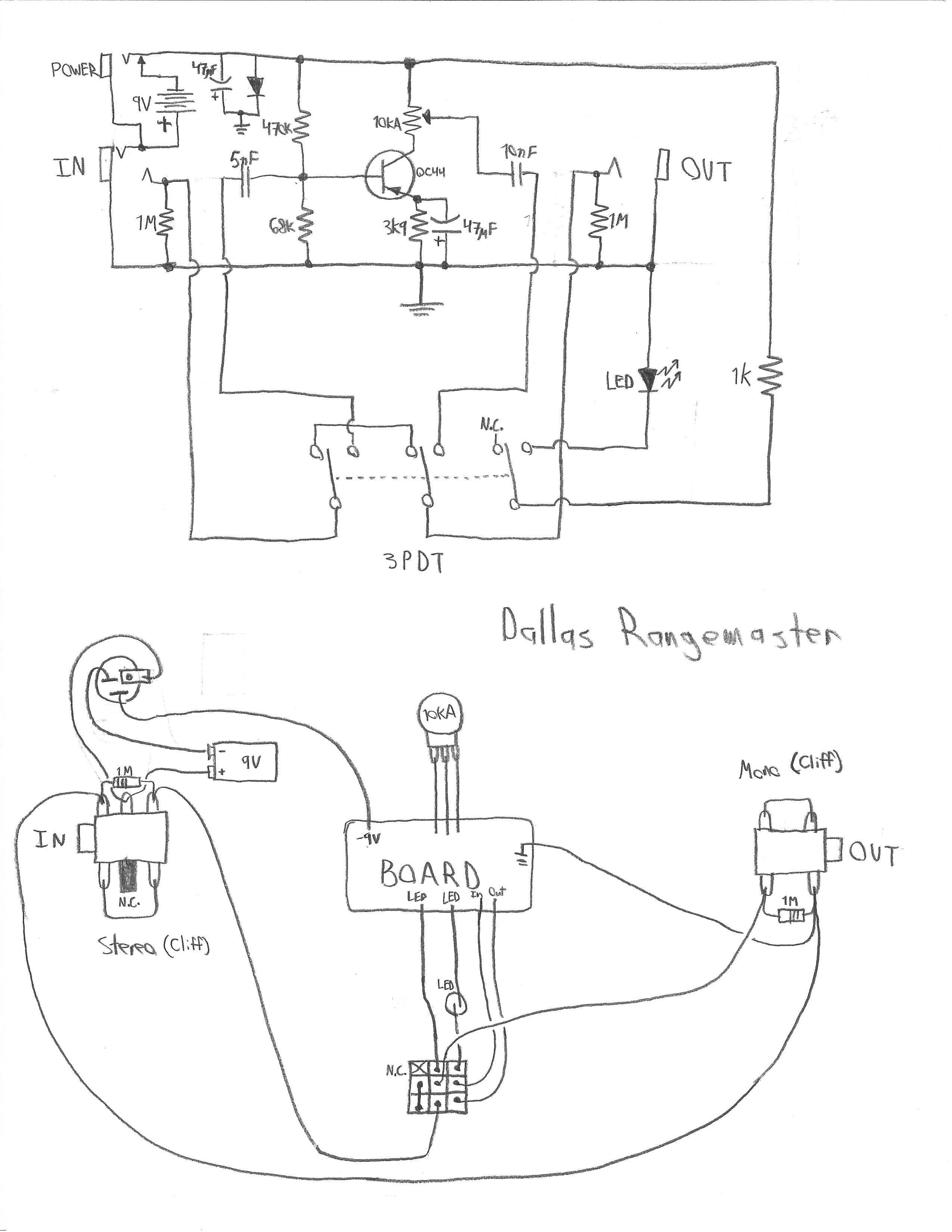 3pdt Wiring Schematic Board - Wiring Diagram Networks