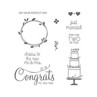 Your Perfect Day Clear Stamp Set