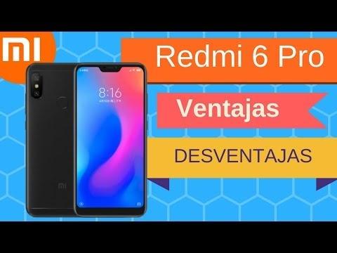 Xiaomi Redmi 6 Pro (Mi A2 Lite) Pros y Contras, Ventajas & Desventajas al detalle
